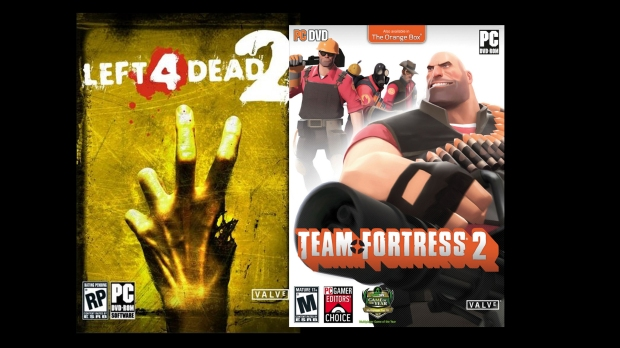Left 4 Dead 2-Team Fortress 2